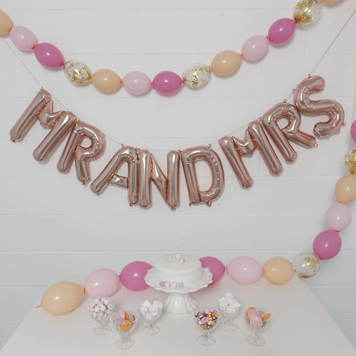 "16"" Air Fill Letter Balloons"