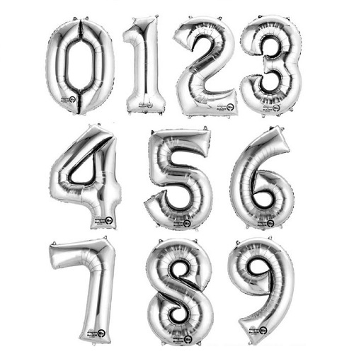 "34"" Number Balloons"