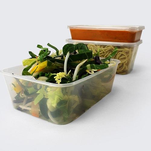 Microwavable Food Tubs