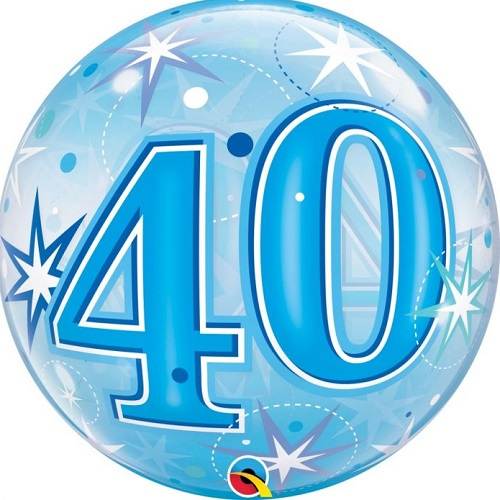 40th Birthday Foil Balloons