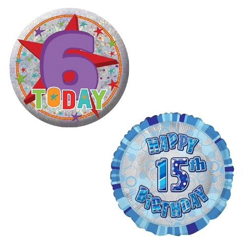 Age 6-15 Partyware