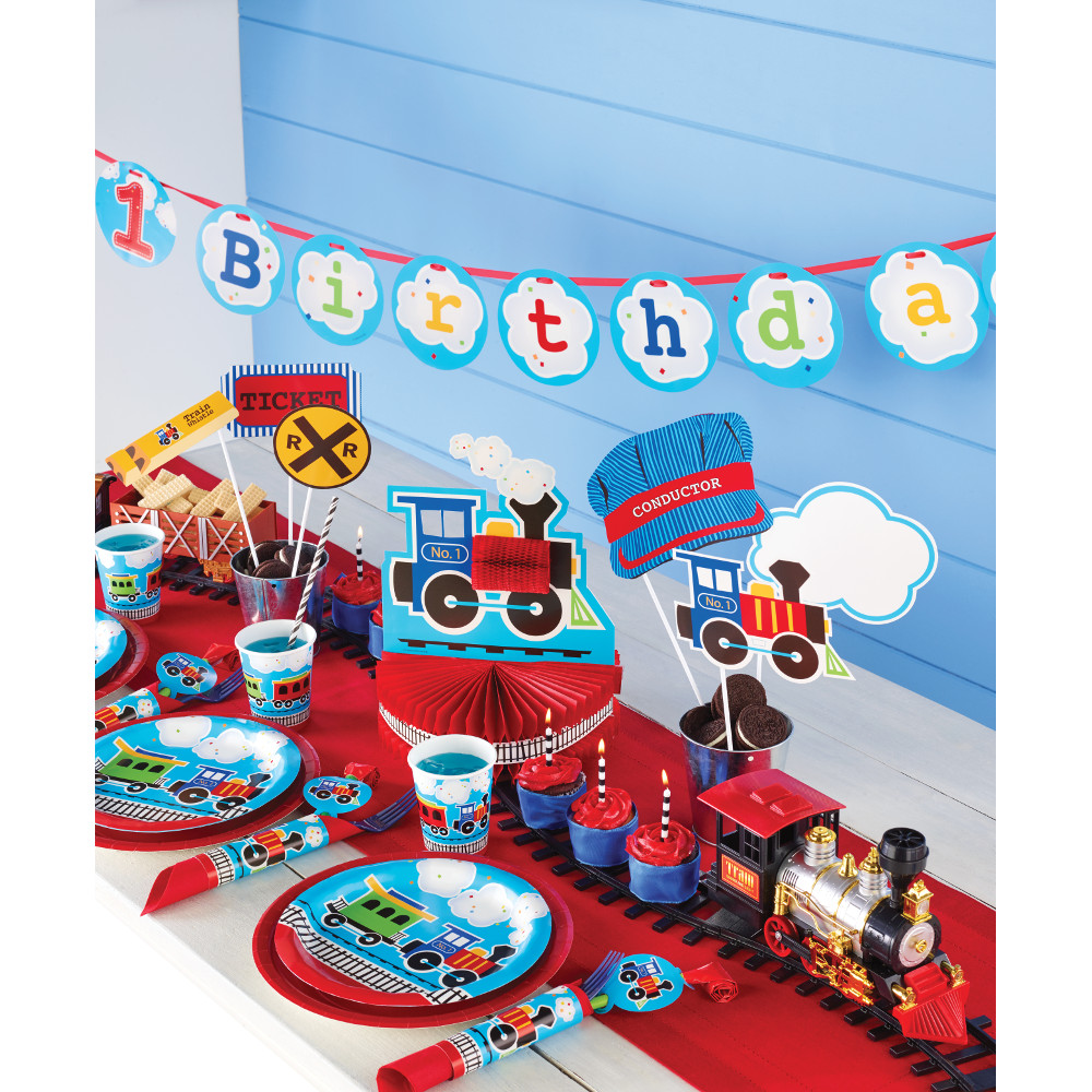 All Aboard Train Partyware
