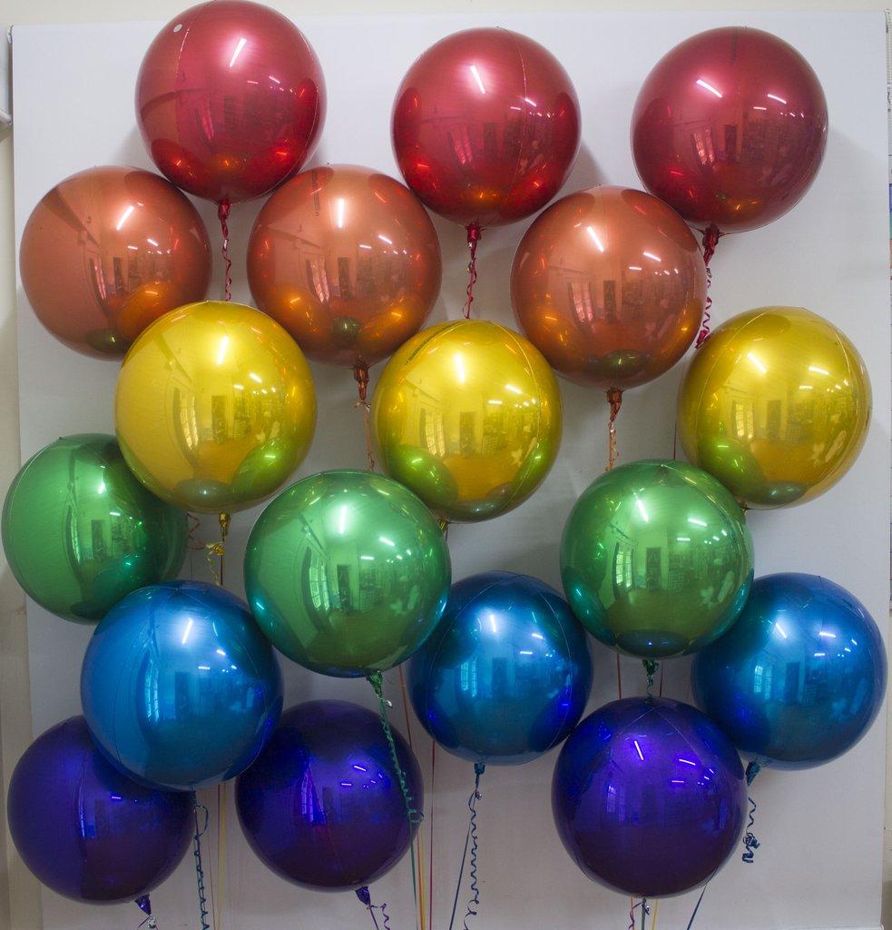 Solid Colour Foil Balloons