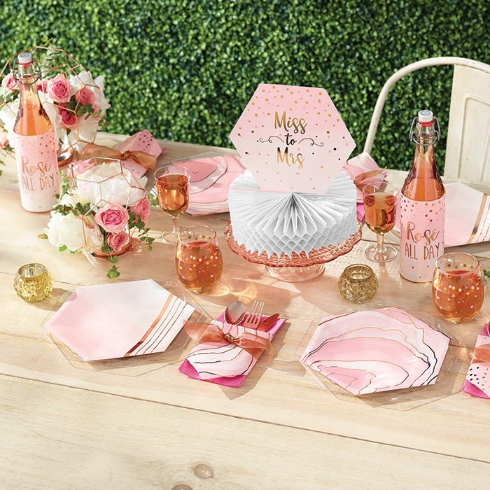 Rose All Day Partyware