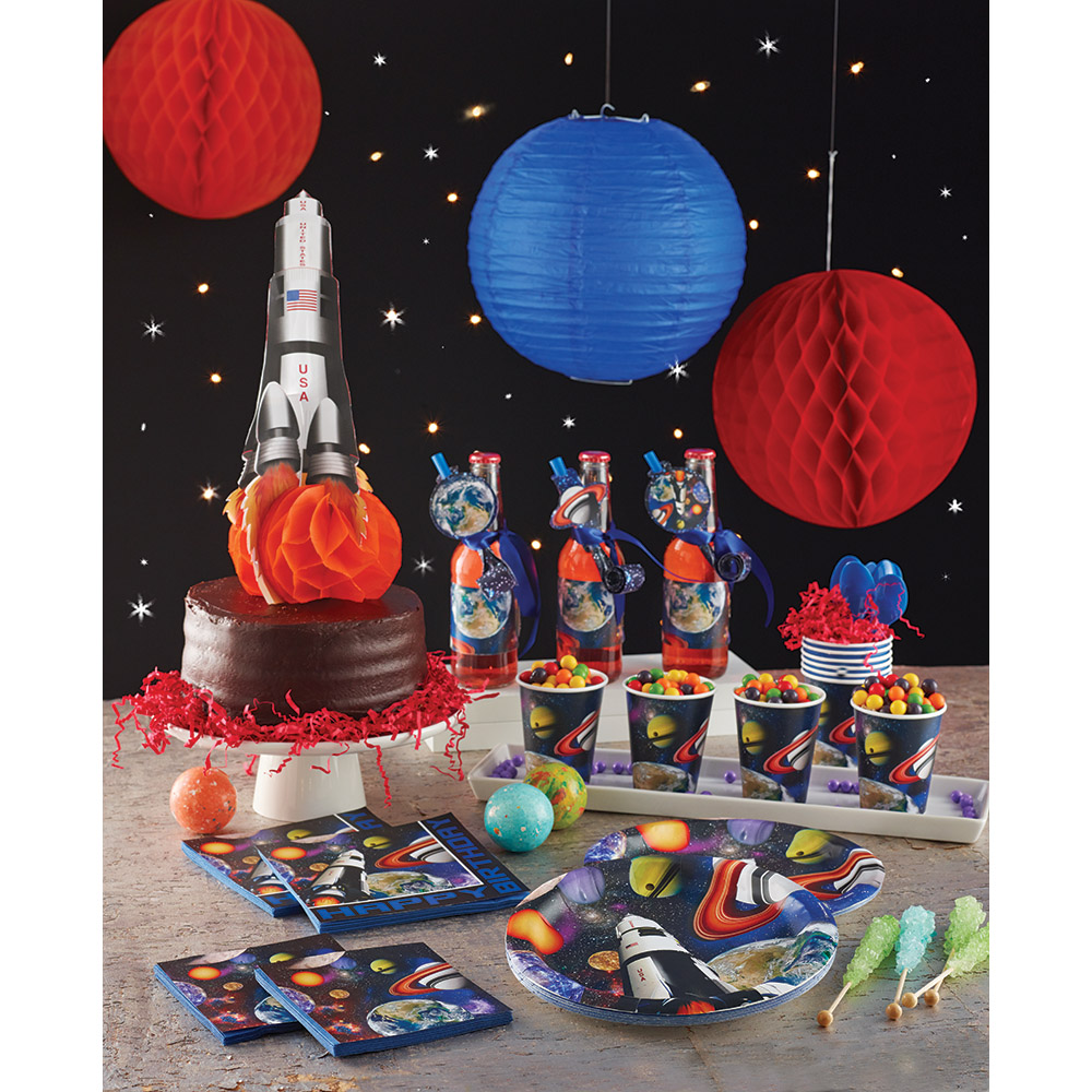 Space And Galaxy Partyware