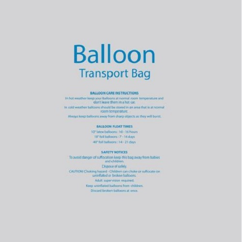 Extra Large Balloon Transport Bags