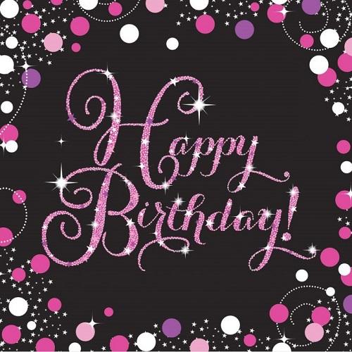 Birthday & Age Napkins