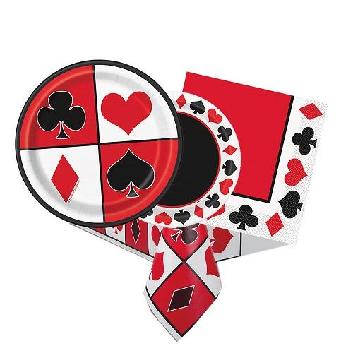 Casino & Cards Partyware