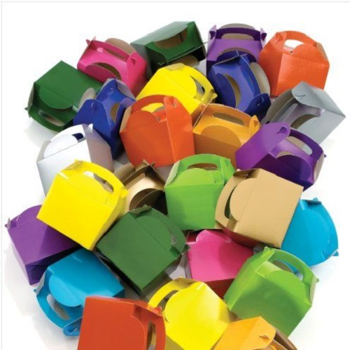 Coloured Meal Boxes