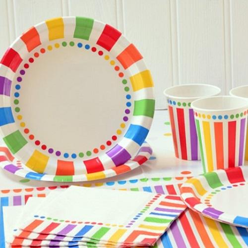 Rainbow Partyware
