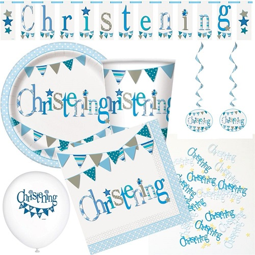 Christening Partyware