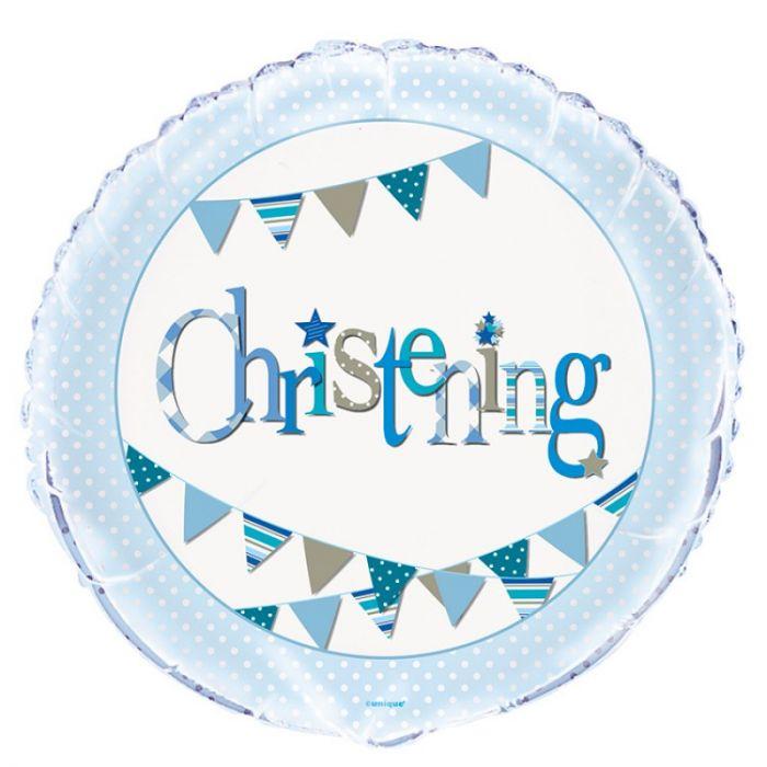 Christening Foil Balloons