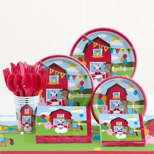 Farmyard Partyware