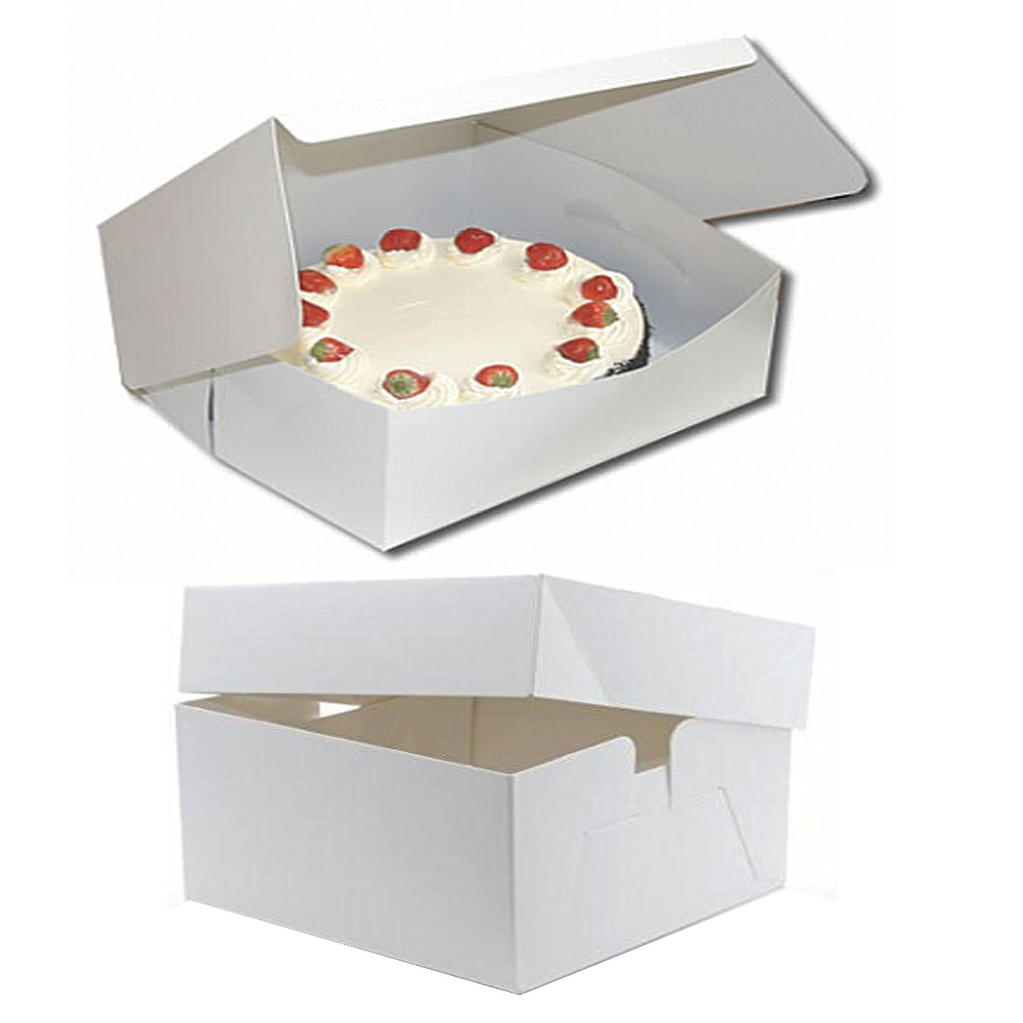 Folding Board Cake Boxes