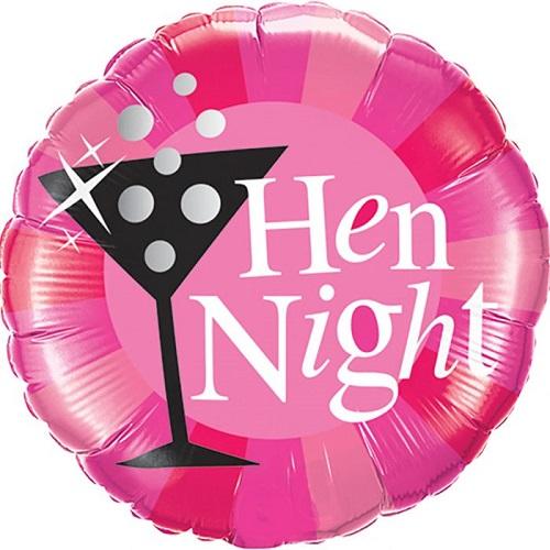 Engagement & Hen Night Foil Balloons