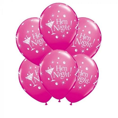 Engagement & Hen Night Latex Balloons