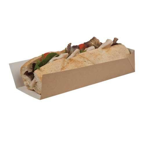 Biodegradable Hotdog Sleeves & Trays